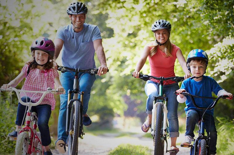 Sport Letter - Vélo sur le petit train du nord